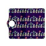 Cute Cactus Blossom Kindle Fire HDX 8.9  Flip 360 Case Front