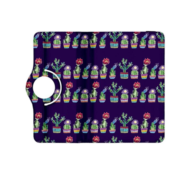 Cute Cactus Blossom Kindle Fire HDX 8.9  Flip 360 Case
