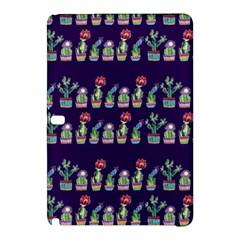 Cute Cactus Blossom Samsung Galaxy Tab Pro 10 1 Hardshell Case by DanaeStudio