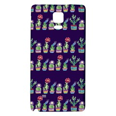 Cute Cactus Blossom Galaxy Note 4 Back Case by DanaeStudio