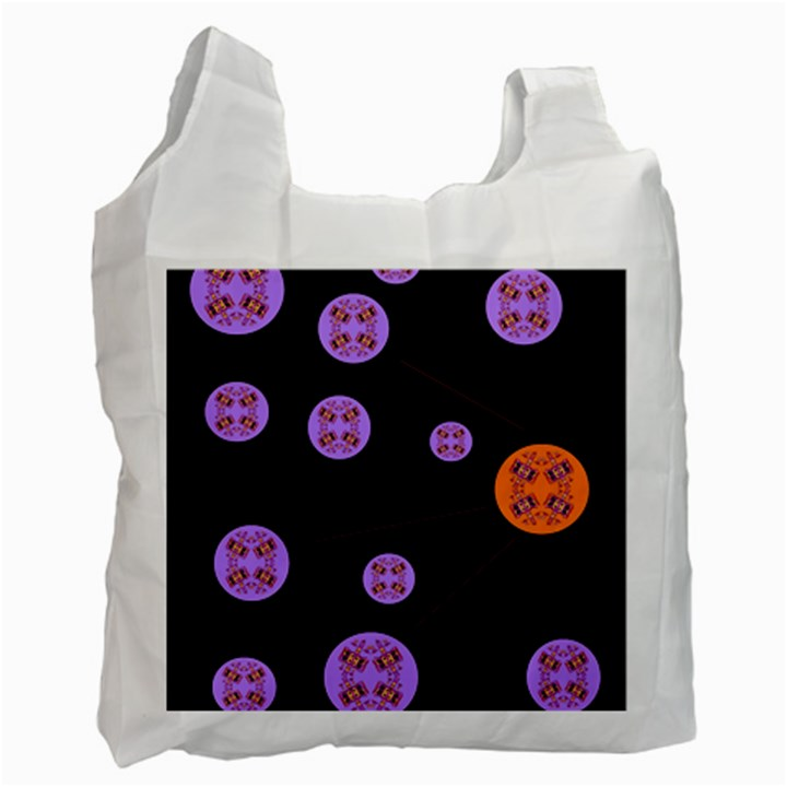 Alphabet Shirtjhjervbret (2)fvgbgnh Recycle Bag (One Side)
