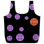 Alphabet Shirtjhjervbret (2)fvgbgnh Full Print Recycle Bags (L)  Front