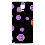 Alphabet Shirtjhjervbret (2)fvgbgnh Galaxy Note 4 Back Case Front