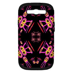 Alphabet Shirtjhjervbret (2)fv Samsung Galaxy S III Hardshell Case (PC+Silicone)