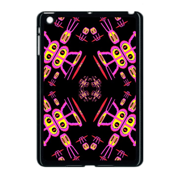 Alphabet Shirtjhjervbret (2)fv Apple iPad Mini Case (Black)
