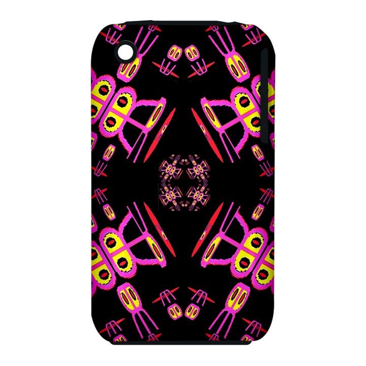 Alphabet Shirtjhjervbret (2)fv Apple iPhone 3G/3GS Hardshell Case (PC+Silicone)