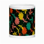 Colorful Floral Pattern Night Luminous Mugs Center