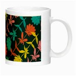 Colorful Floral Pattern Night Luminous Mugs Right