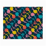 Colorful Floral Pattern Small Glasses Cloth