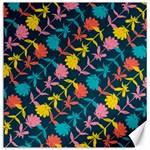 Colorful Floral Pattern Canvas 20  x 20   20 x20 Canvas - 1