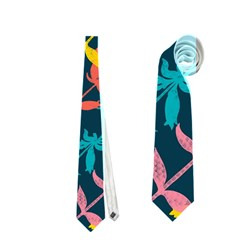 Colorful Floral Pattern Neckties (One Side)