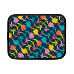 Colorful Floral Pattern Netbook Case (Small)
