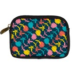 Colorful Floral Pattern Digital Camera Cases Front