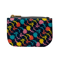 Colorful Floral Pattern Mini Coin Purses