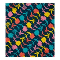 Colorful Floral Pattern Shower Curtain 66  X 72  (large)