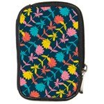 Colorful Floral Pattern Compact Camera Cases