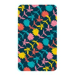 Colorful Floral Pattern Memory Card Reader