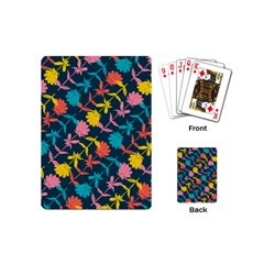 Colorful Floral Pattern Playing Cards (Mini)