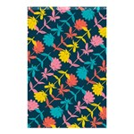 Colorful Floral Pattern Shower Curtain 48  x 72  (Small)  42.18 x64.8 Curtain