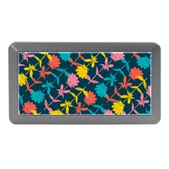 Colorful Floral Pattern Memory Card Reader (mini)