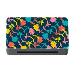 Colorful Floral Pattern Memory Card Reader with CF