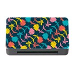 Colorful Floral Pattern Memory Card Reader with CF Front