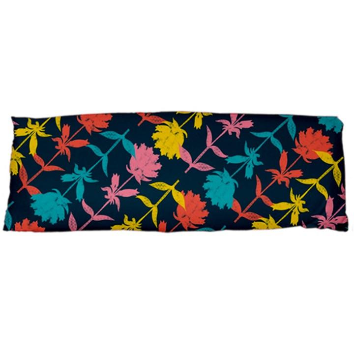 Colorful Floral Pattern Body Pillow Case (Dakimakura)