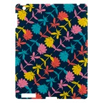 Colorful Floral Pattern Apple iPad 3/4 Hardshell Case