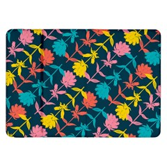 Colorful Floral Pattern Samsung Galaxy Tab 8 9  P7300 Flip Case