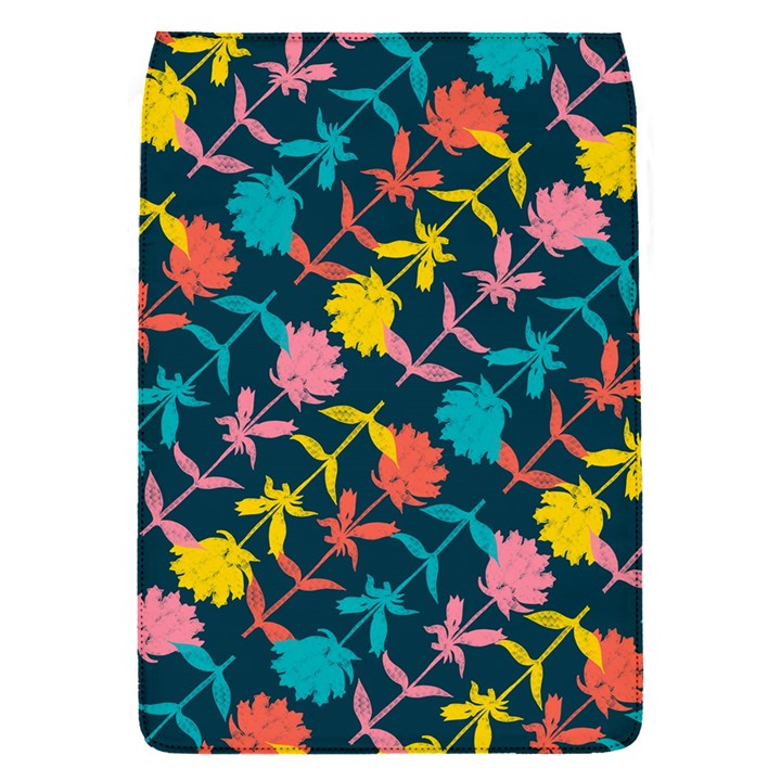 Colorful Floral Pattern Flap Covers (S)