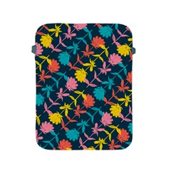 Colorful Floral Pattern Apple iPad 2/3/4 Protective Soft Cases