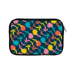 Colorful Floral Pattern Apple Ipad Mini Zipper Cases by DanaeStudio