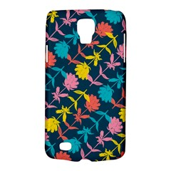 Colorful Floral Pattern Galaxy S4 Active