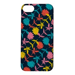 Colorful Floral Pattern Apple iPhone 5S/ SE Hardshell Case