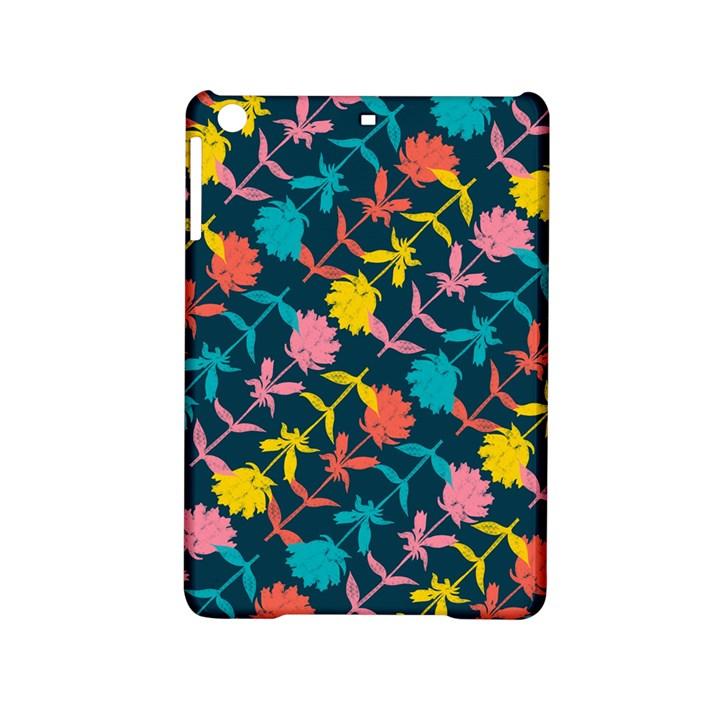Colorful Floral Pattern iPad Mini 2 Hardshell Cases