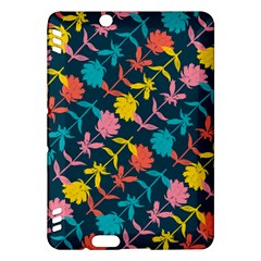 Colorful Floral Pattern Kindle Fire HDX Hardshell Case