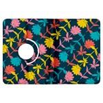 Colorful Floral Pattern Kindle Fire HDX Flip 360 Case