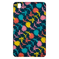 Colorful Floral Pattern Samsung Galaxy Tab Pro 8 4 Hardshell Case