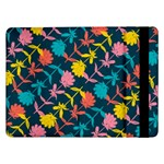 Colorful Floral Pattern Samsung Galaxy Tab Pro 12.2  Flip Case Front