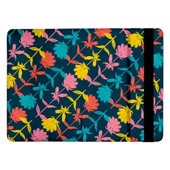 Colorful Floral Pattern Samsung Galaxy Tab Pro 12.2  Flip Case