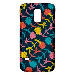 Colorful Floral Pattern Galaxy S5 Mini