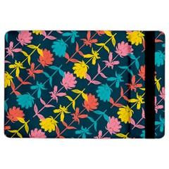 Colorful Floral Pattern Ipad Air 2 Flip by DanaeStudio