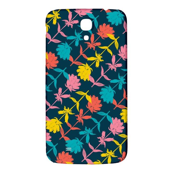 Colorful Floral Pattern Samsung Galaxy Mega I9200 Hardshell Back Case