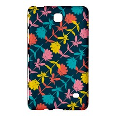 Colorful Floral Pattern Samsung Galaxy Tab 4 (8 ) Hardshell Case