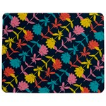 Colorful Floral Pattern Jigsaw Puzzle Photo Stand (Rectangular) Front