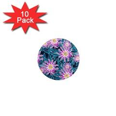 Whimsical Garden 1  Mini Magnet (10 pack)