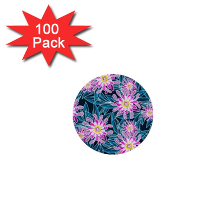 Whimsical Garden 1  Mini Buttons (100 pack)