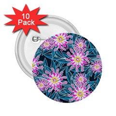 Whimsical Garden 2 25  Buttons (10 Pack)  by DanaeStudio