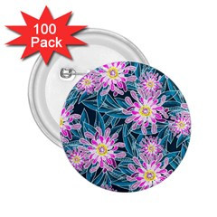Whimsical Garden 2 25  Buttons (100 Pack)  by DanaeStudio