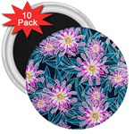 Whimsical Garden 3  Magnets (10 pack)  Front